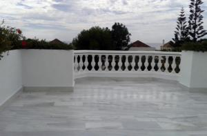 Marbella damp proofing of marble floor terrace and painting of exterior area